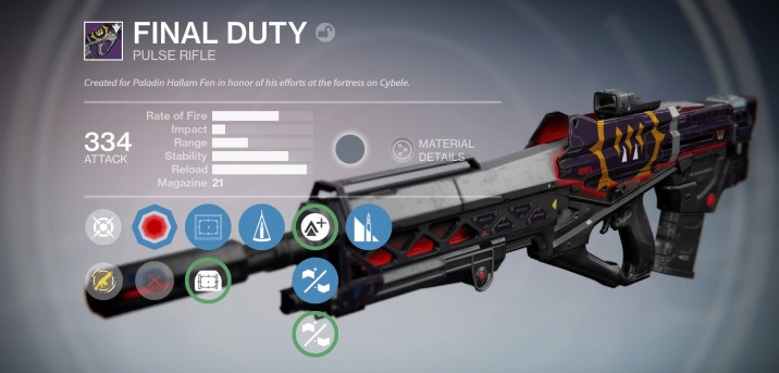 Perks: Counterbalance, Feather Mag, Lightweight, Glass Half Full