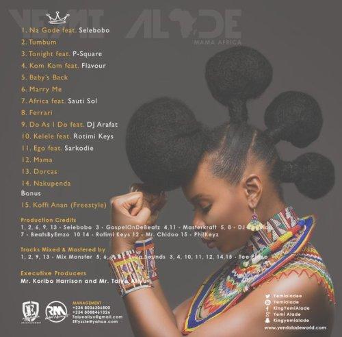 YemiAlade_Tracklist