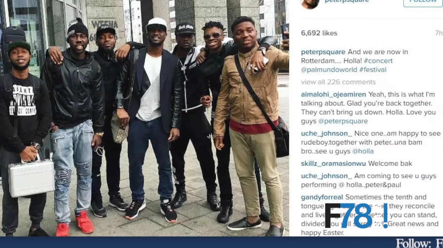 F78 NEWS: 2face, Blackface & Faze Reconciled? CNN Doesn't Care About Africa Says AKA +More
