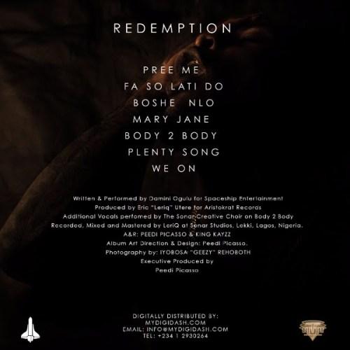 Burna Boy_Redemption_EP_Back