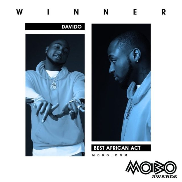 MOBO Awards Davido