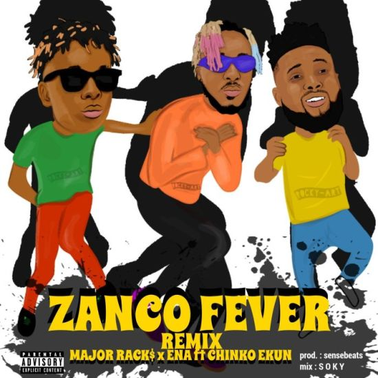 VIDEO: Major Racks x Ena ft. Chinko Ekun – Zanco Fever (Remix)