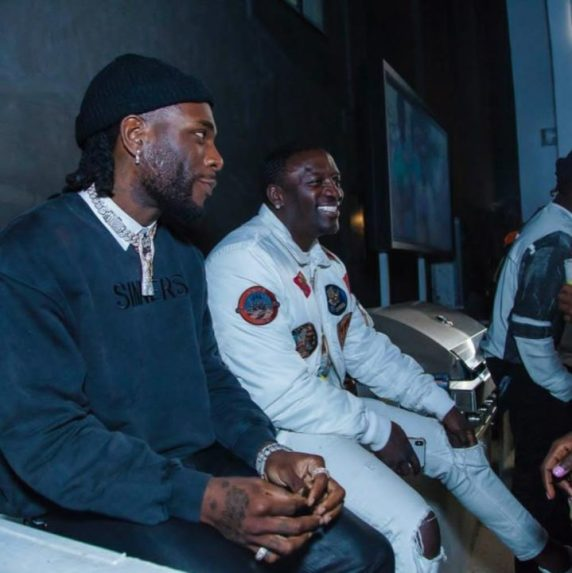 Burna Boy and Akon
