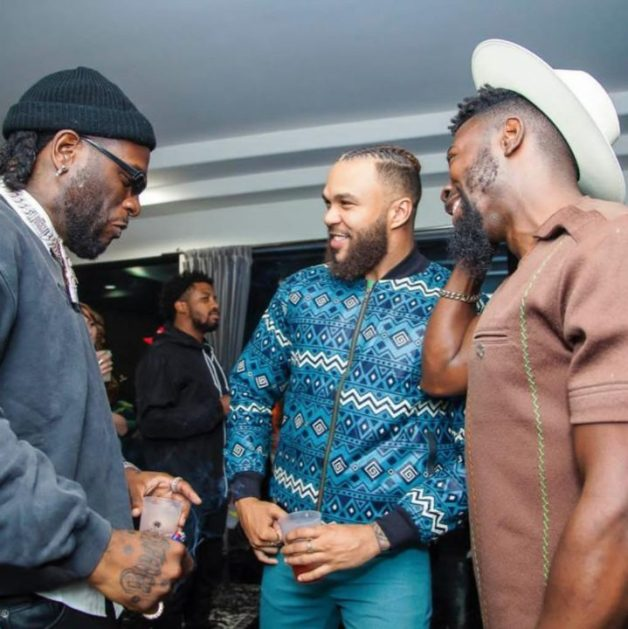 African Giant and Jidenna