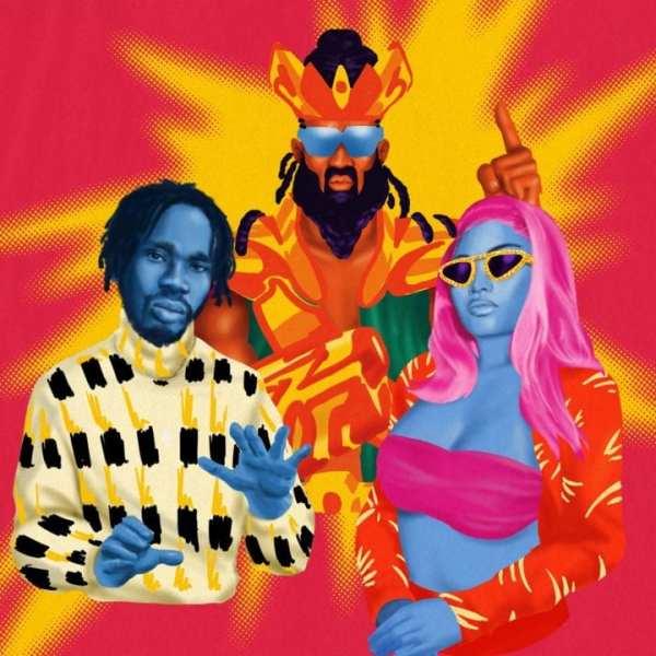 Mr Eazi, Nicki Minaj, Major Lazer, K4MO - Oh My Gawd