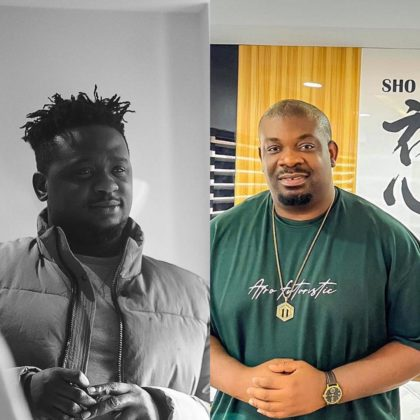 This Video of Wande Coal and Don Jazzy in the Studio Is a Must-Watch