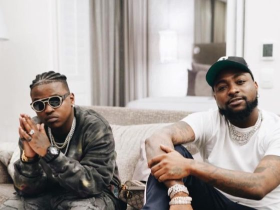"""Davido and Focalistic's Receive Certification Plaque for """"Ke Star""""   Watch"""