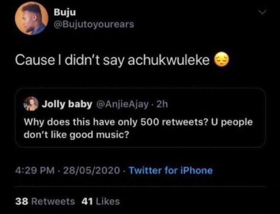 Buju is Trending Because of Wizkid & Davido. Here's Why NotjustOK Old Tweets Twitter