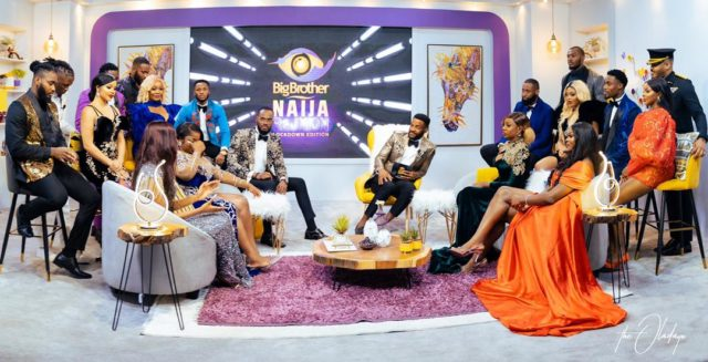See All the Reactions as the BBNaija Reunion Comes to an End