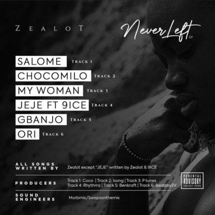 LISTEN: Zealot - Never Left EP | Mp3 « NotJustOk