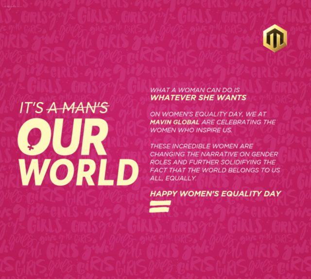 Mavin Records Women Day Campaign