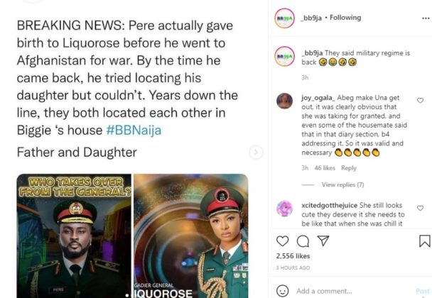 BBNaija Update 6 Liquorose HoH Reign Draws Pere Comparisons Reactions NotjustOK