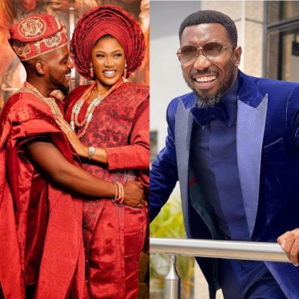 Watch How Tobi Bakre Gets Timi Dakolo to Suprise Wife Anu Video NotjustOK