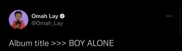 Omah Lay Announces Title for Debut Album Details NotjustOK