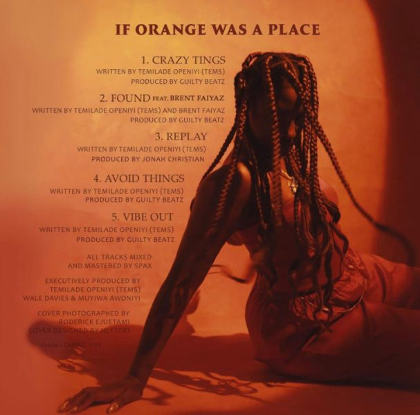 If Orange Was A Place EP Tracklist