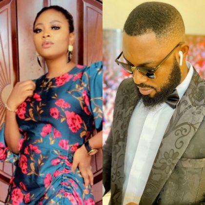 BBNaija Updates Tega And Husband Finally Reunite Watch Video NotjustOK