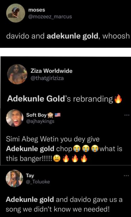 Adekunle Gold Davido High