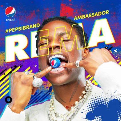 Rema Ayra Starr Pepsi