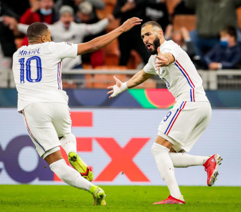 Mbappe and Benzema