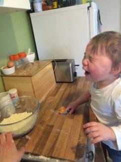 Baking tantrum