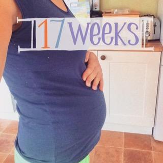 17 Week Bump