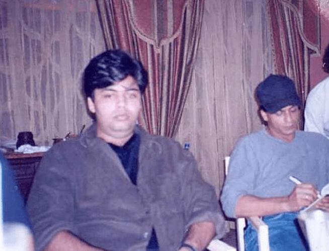 Image result for young karan johar