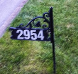 Curbside address