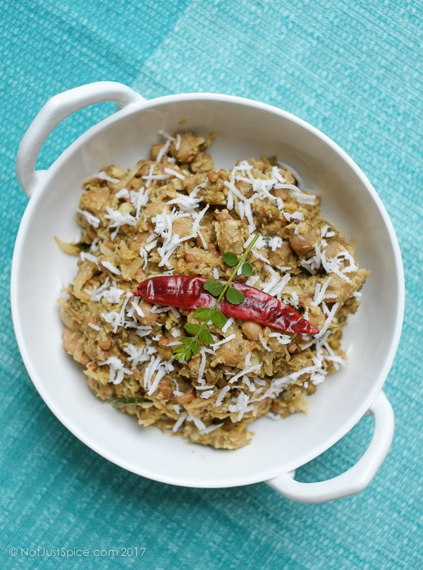 Multigrain Sundal on notjustspice.com