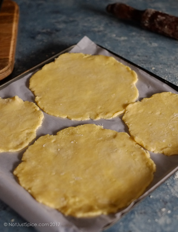 How To Make Quick Flaky Pastry on notjustspice.com