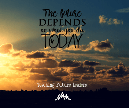 Every day is a opportunity to make a better tomorrow!