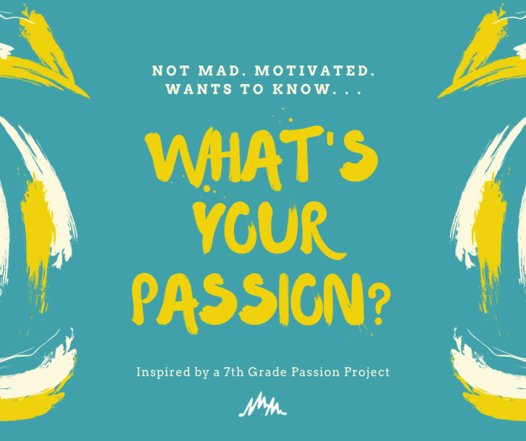 What is your passion?  Why not start exploring new passions during this difficult time?