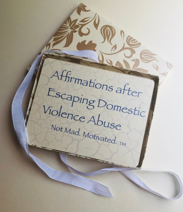 Affirm the voice after domestic violence abuse