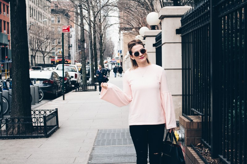 Light-Pink-Zara-Sweater