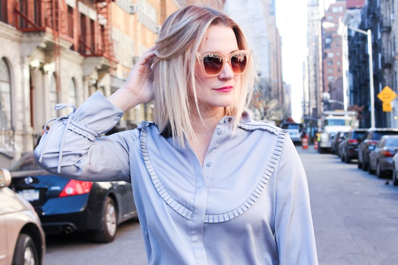 Not-Necessarily-Blonde-Topshop-Blue-Blouse