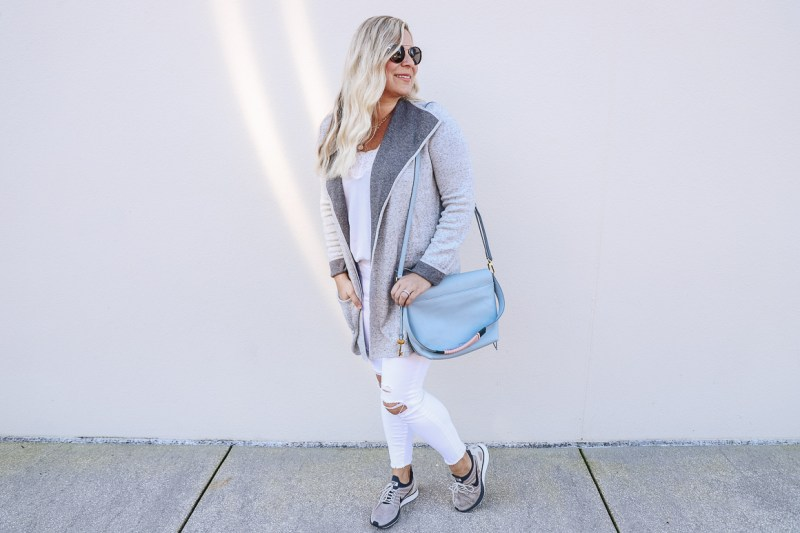 The perfect fall cardigan from Loft