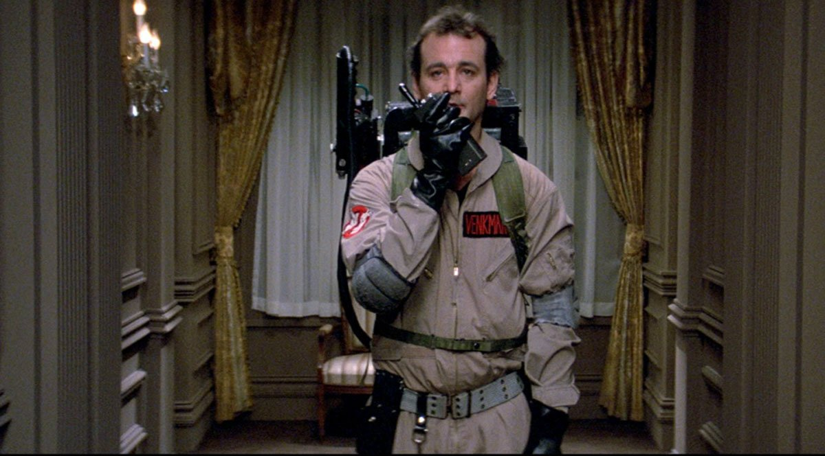 Bill Murray in Ghostbusters 1984 Tech