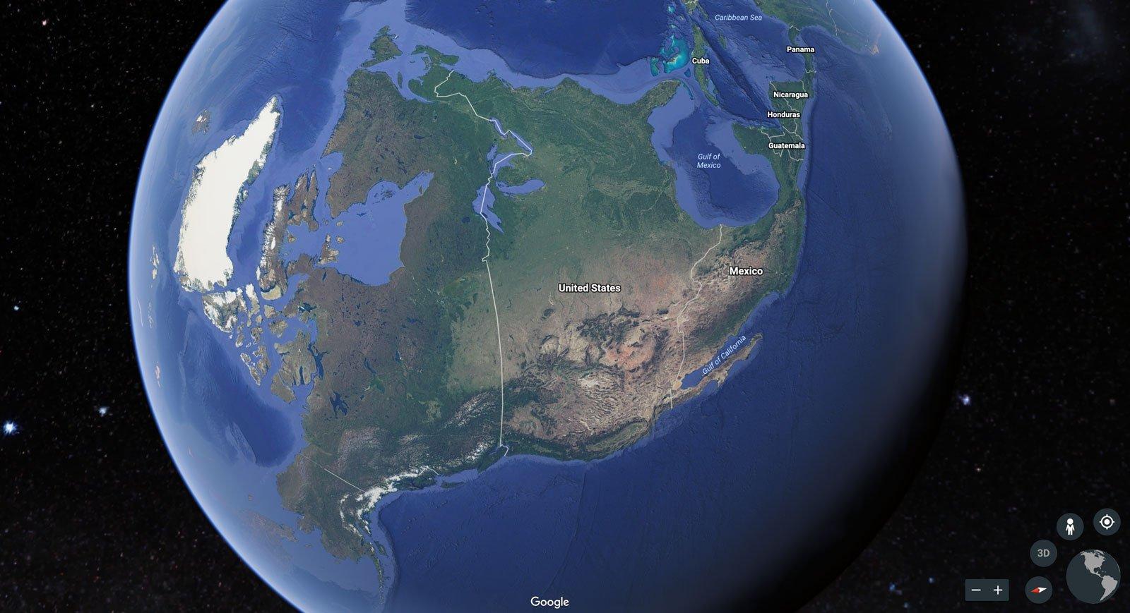 New Google Earth App