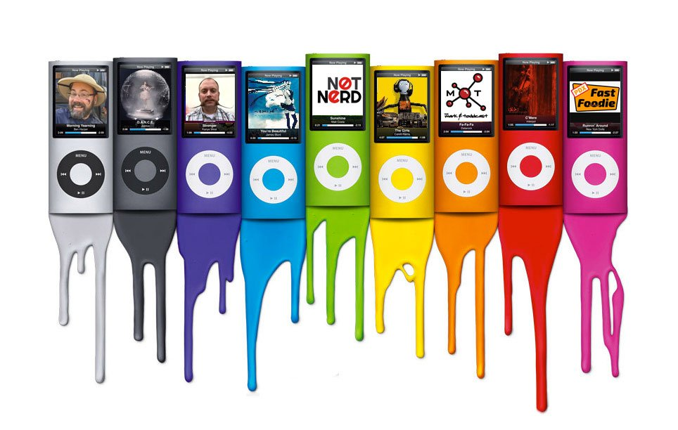Apple iPod Nano Lineup