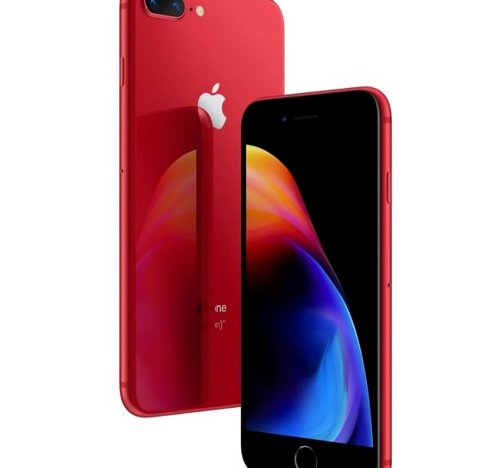 Product Red iPhone 8 and 8 Plus Now Available