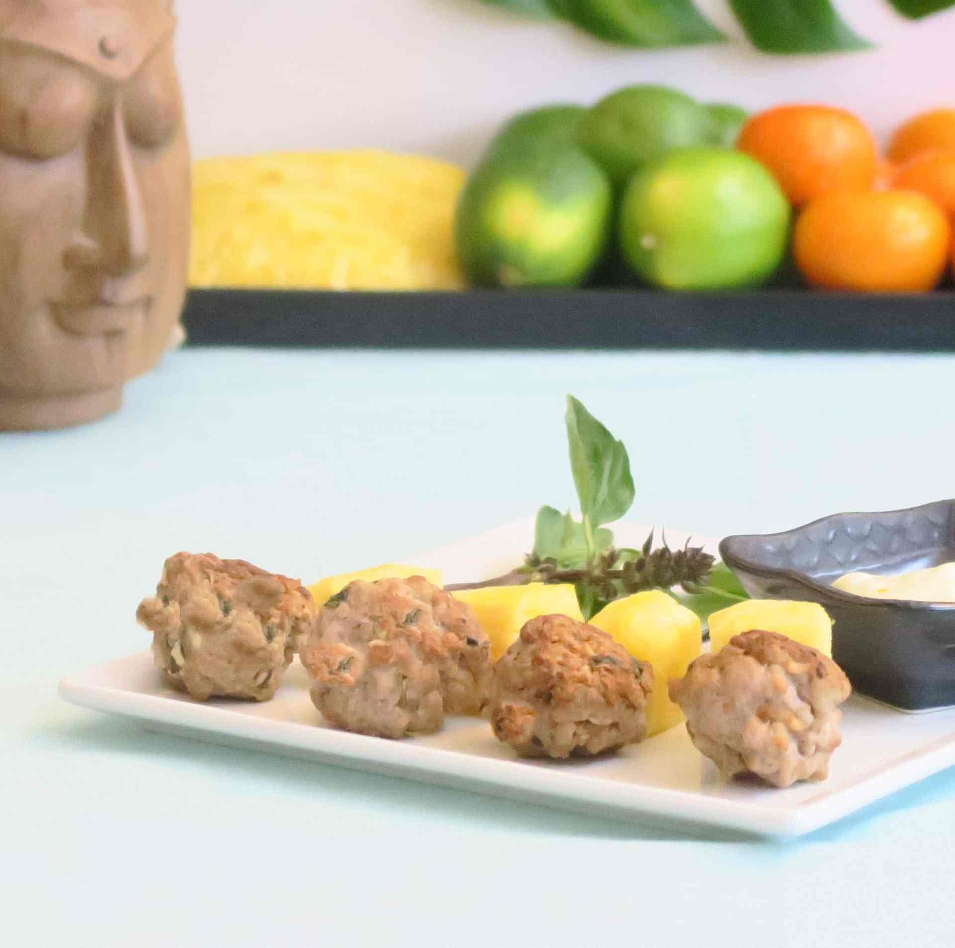 Vietnamese-Inspired Pork Meatballs