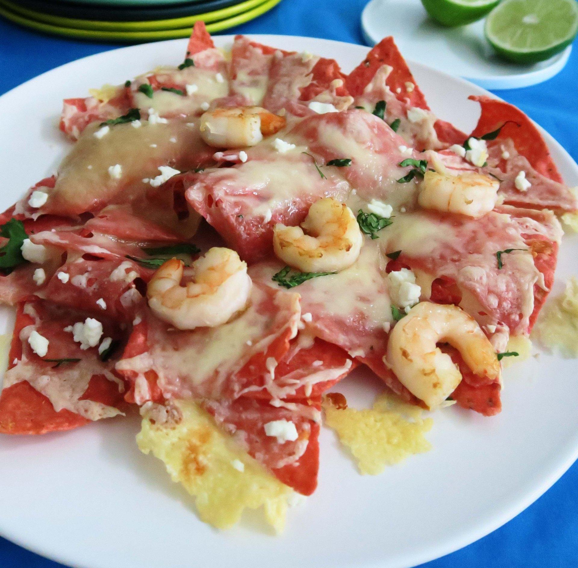 Shrimp Taco Nachos