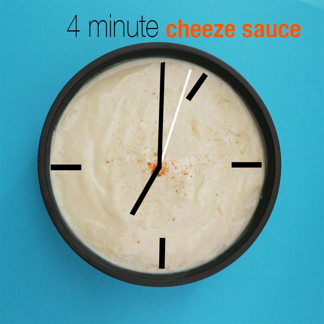 4 minute Cheeze Sauce