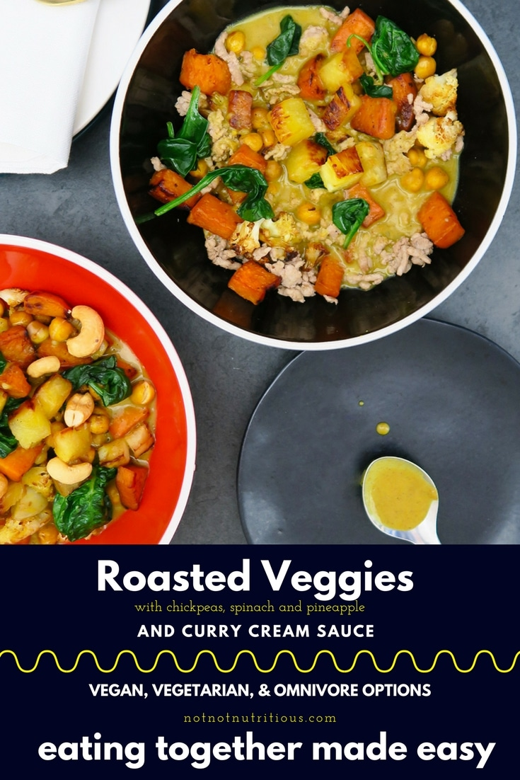 PIN_roasted veggies with curry cream sauce_final
