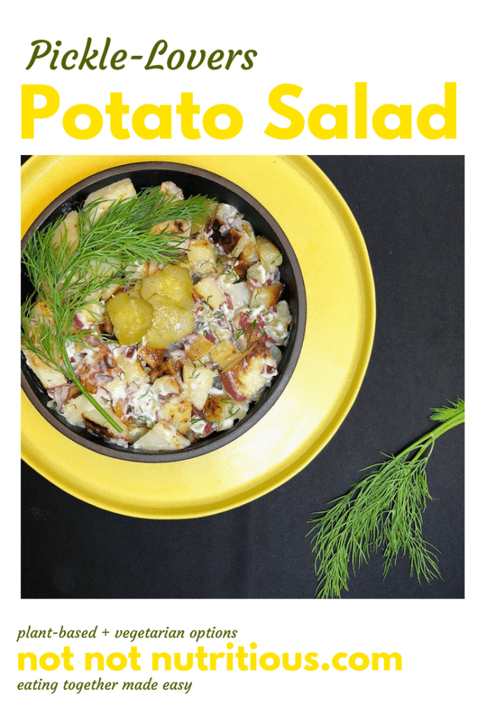 Pickle-Lovers Potato Salad