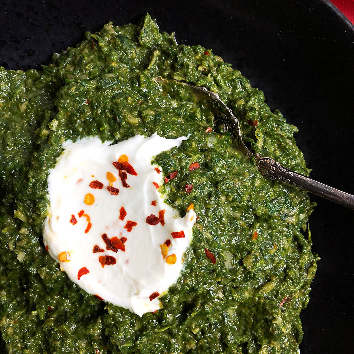 Indian-Spiced Spinach (Saag)