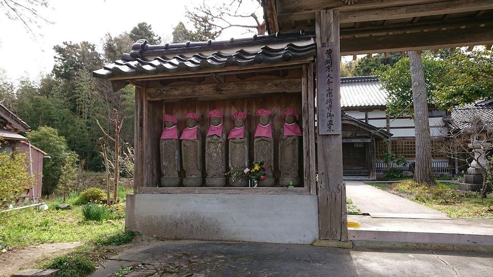 七尾にある山の寺寺院群の1つ「恵眼寺(えげんじ)」