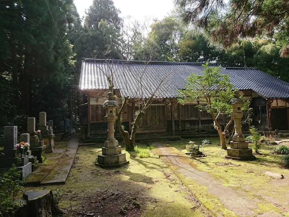 七尾にある山の寺寺院群の1つ「西念寺(さいねんじ)」