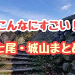 こんなにすごい!五大山城のひとつ七尾城跡のある城山(じょうやま)まとめ記事