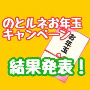 のとルネお年玉キャンペーン結果発表!人気No.1になったのは??