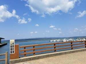 和倉温泉客がおりたった弁天島に架かっていた弁天橋【七尾市 和倉温泉】